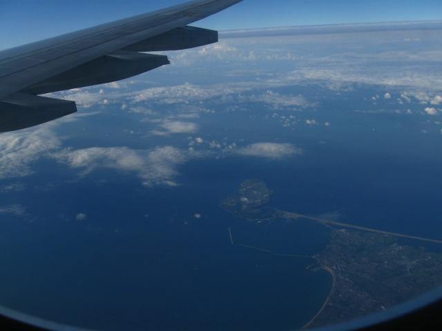 english coast from sky