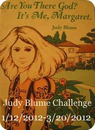 Badge for the Judy Blume Challenge
