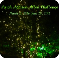 Badge for Sarah Addison Allen Challenge